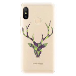 Silikonové odolné pouzdro iSaprio - Deer Green na mobil Xiaomi Mi A2 Lite