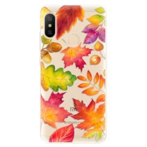 Silikonové odolné pouzdro iSaprio - Autumn Leaves 01 na mobil Xiaomi Mi A2 Lite