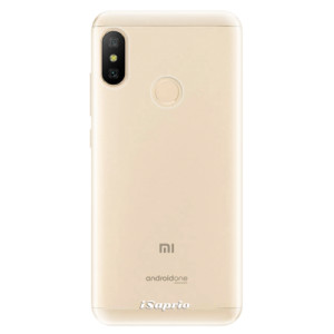 Silikonové odolné pouzdro iSaprio - 4Pure - čiré bez potisku na mobil Xiaomi Mi A2 Lite