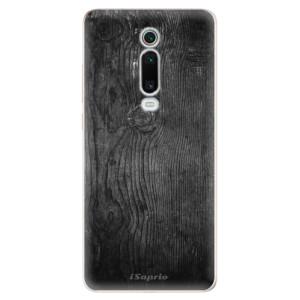 Silikonové odolné pouzdro iSaprio - Black Wood 13 na mobil Xiaomi Mi 9T Pro