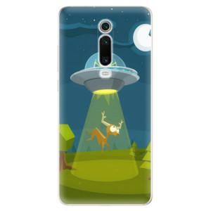 Silikonové odolné pouzdro iSaprio - Alien 01 na mobil Xiaomi Mi 9T Pro