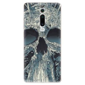 Silikonové odolné pouzdro iSaprio - Abstract Skull na mobil Xiaomi Mi 9T Pro