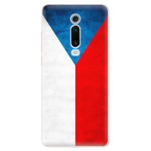 Silikonové odolné pouzdro iSaprio - Czech Flag na mobil Xiaomi Mi 9T Pro