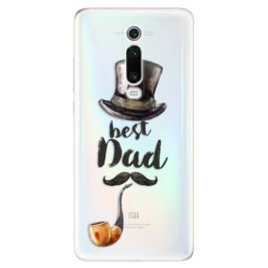 Silikonové odolné pouzdro iSaprio - Best Dad na mobil Xiaomi Mi 9T Pro