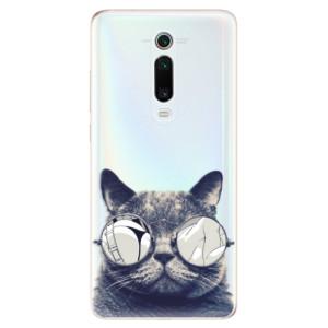 Silikonové odolné pouzdro iSaprio - Crazy Cat 01 na mobil Xiaomi Mi 9T Pro