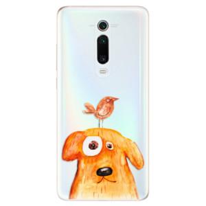 Silikonové odolné pouzdro iSaprio - Dog And Bird na mobil Xiaomi Mi 9T Pro