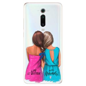 Silikonové odolné pouzdro iSaprio - Best Friends na mobil Xiaomi Mi 9T Pro