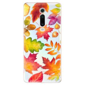 Silikonové odolné pouzdro iSaprio - Autumn Leaves 01 na mobil Xiaomi Mi 9T Pro