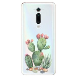 Silikonové odolné pouzdro iSaprio - Cacti 01 na mobil Xiaomi Mi 9T Pro