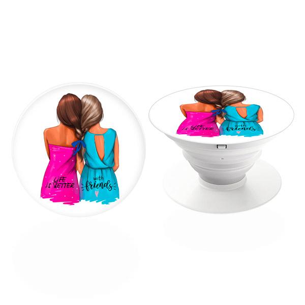 PopSocket iSaprio – Best Friends držák na mobil / mobil držka