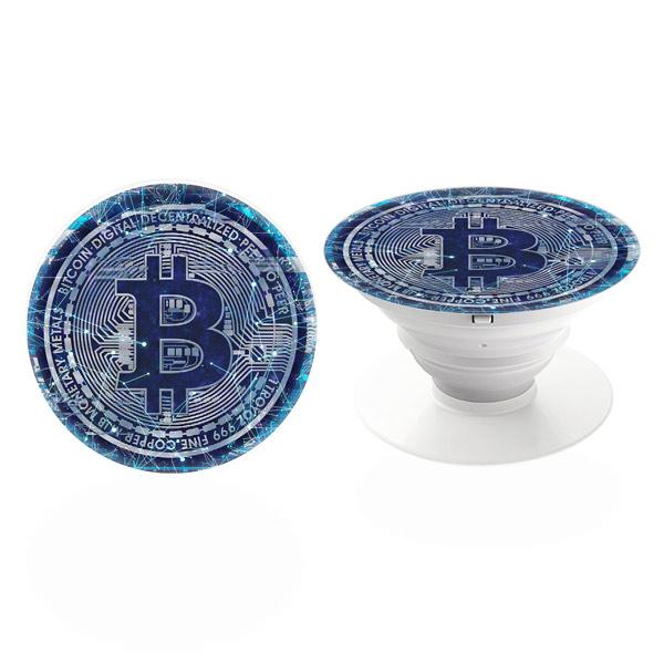 PopSocket iSaprio – Bitcoin 01 držák na mobil / mobil držka
