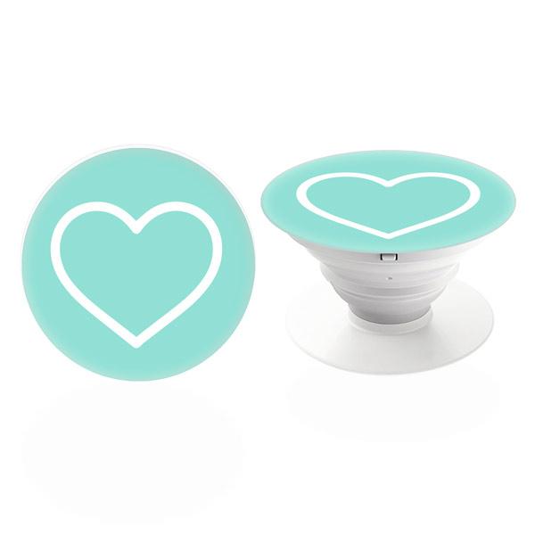 PopSocket iSaprio – Blue Heart držák na mobil / mobil držka