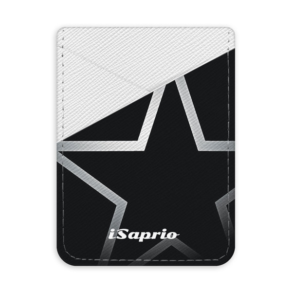 Pouzdro na kreditní karty iSaprio Star světlá nalepovací kapsa