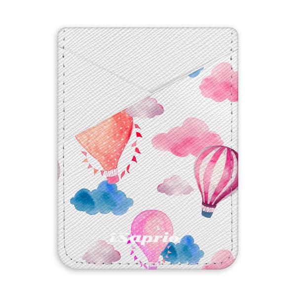 Pouzdro na kreditní karty iSaprio Summer Sky světlá nalepovací kapsa