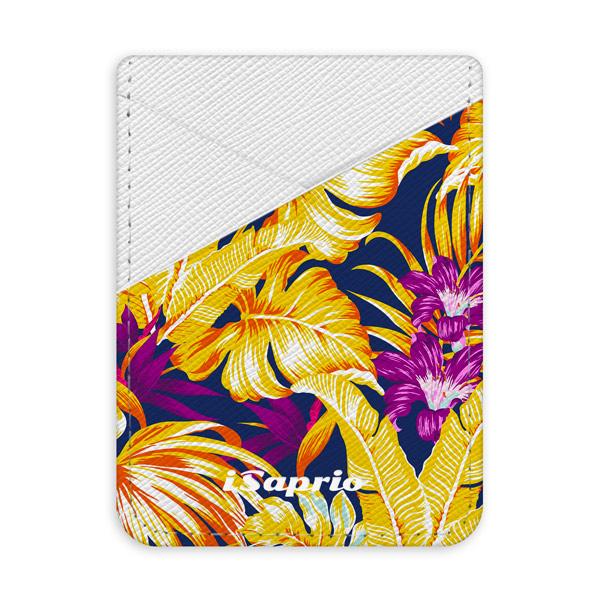 Pouzdro na kreditní karty iSaprio Tropical Orange 04 světlá nalepovací kapsa