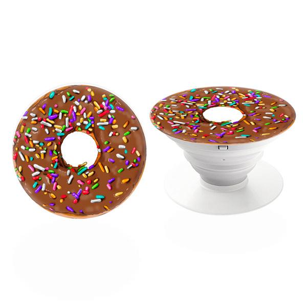 PopSocket iSaprio – Choco Donut držák na mobil / mobil držka