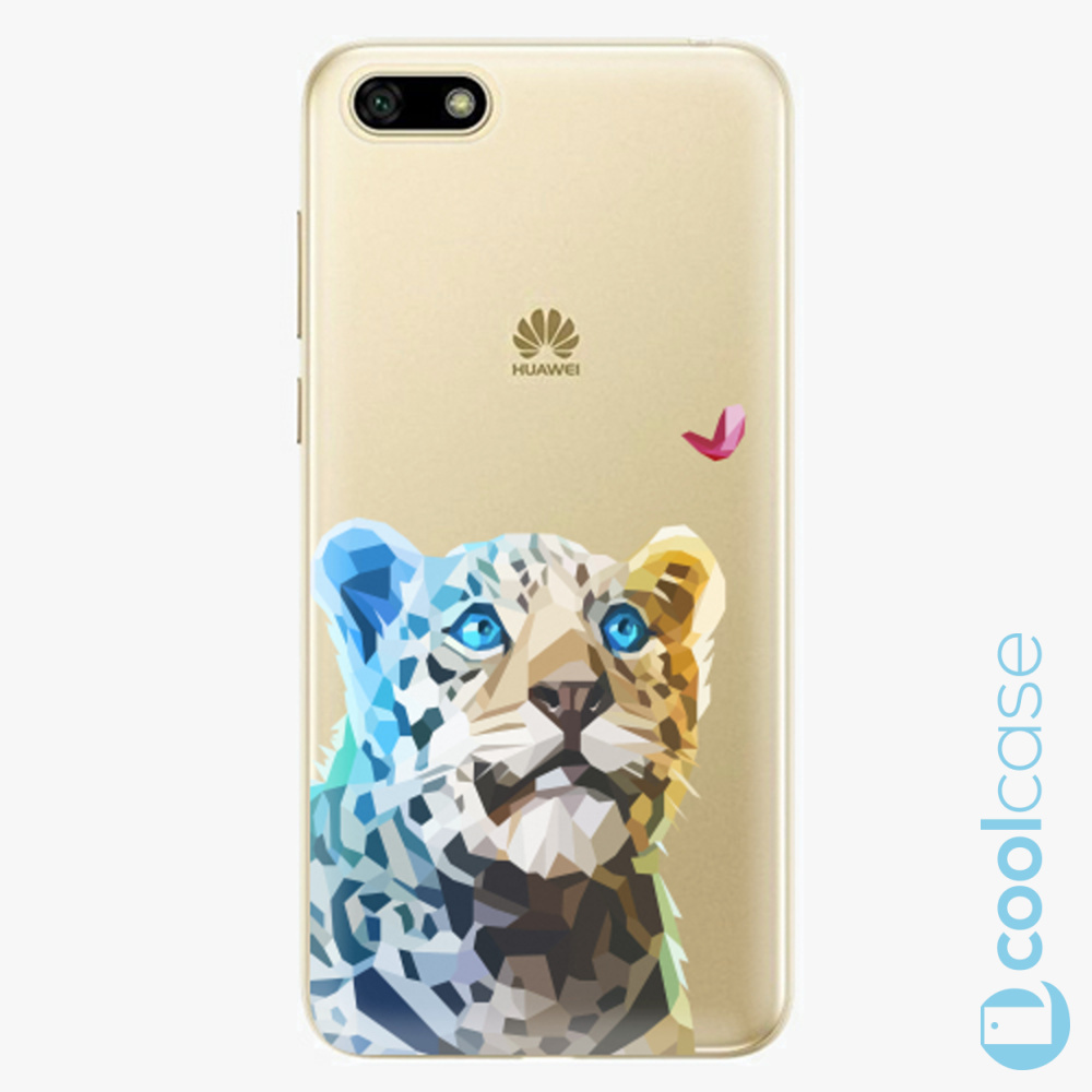 Plastový kryt iSaprio Fresh - Leopard With Butterfly na mobil Huawei Y5 2018 / Honor 7S