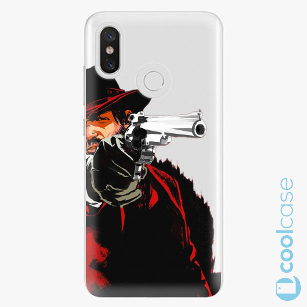Plastový kryt iSaprio Fresh - Red Sheriff na mobil Xiaomi Mi 8