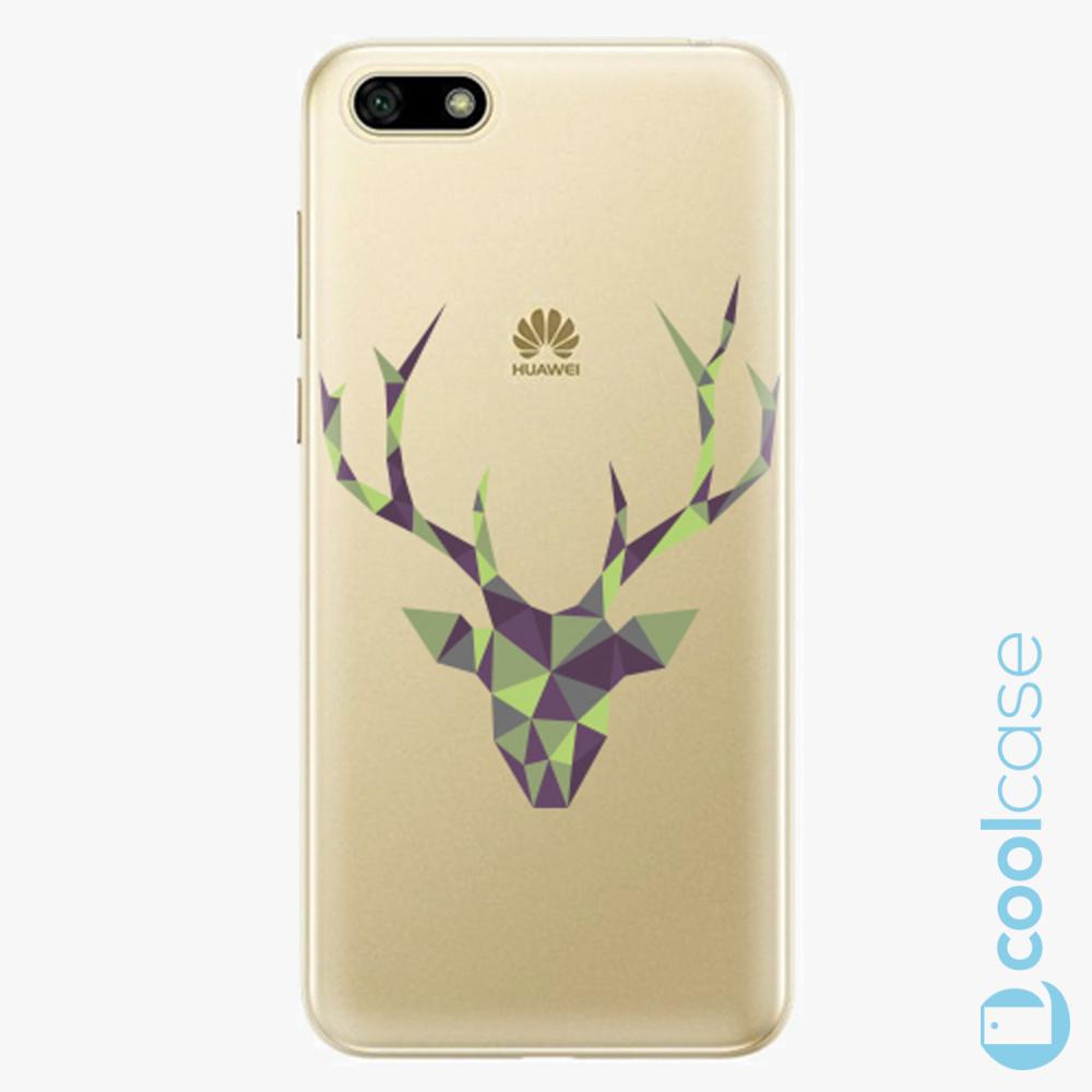 Plastový kryt iSaprio Fresh - Deer Green na mobil Huawei Y5 2018 / Honor 7S