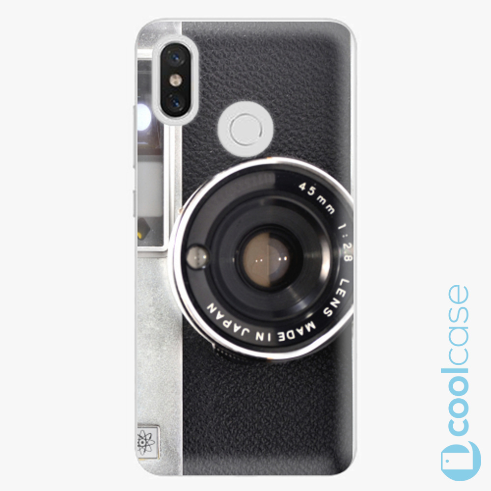 Plastový kryt iSaprio Fresh - Vintage Camera 01 na mobil Xiaomi Mi 8