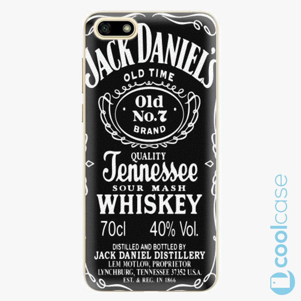 Plastový kryt iSaprio Fresh - Jack Daniels na mobil Huawei Y5 2018 / Honor 7S