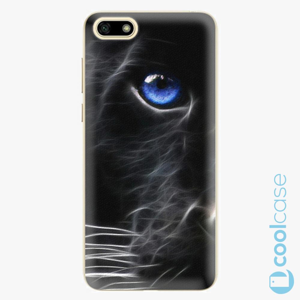 Plastový kryt iSaprio Fresh - black Puma na mobil Huawei Y5 2018 / Honor 7S