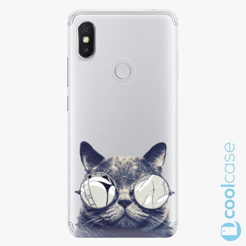 Plastový kryt iSaprio Fresh - Crazy Cat 01 na mobil Xiaomi Redmi S2