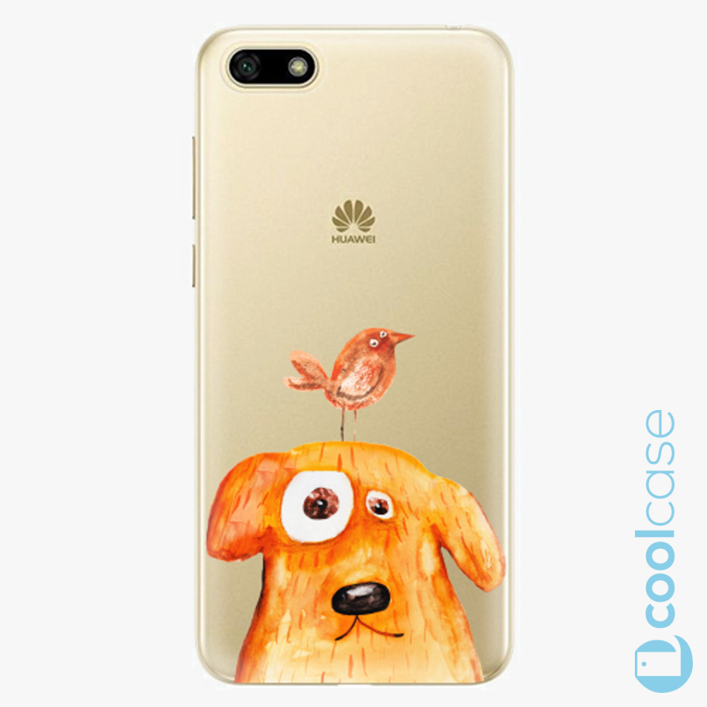 Plastový kryt iSaprio Fresh - Dog And Bird na mobil Huawei Y5 2018 / Honor 7S