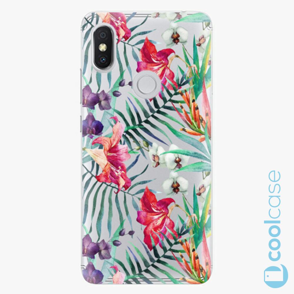 Plastový kryt iSaprio Fresh - Flower Pattern 03 na mobil Xiaomi Redmi S2