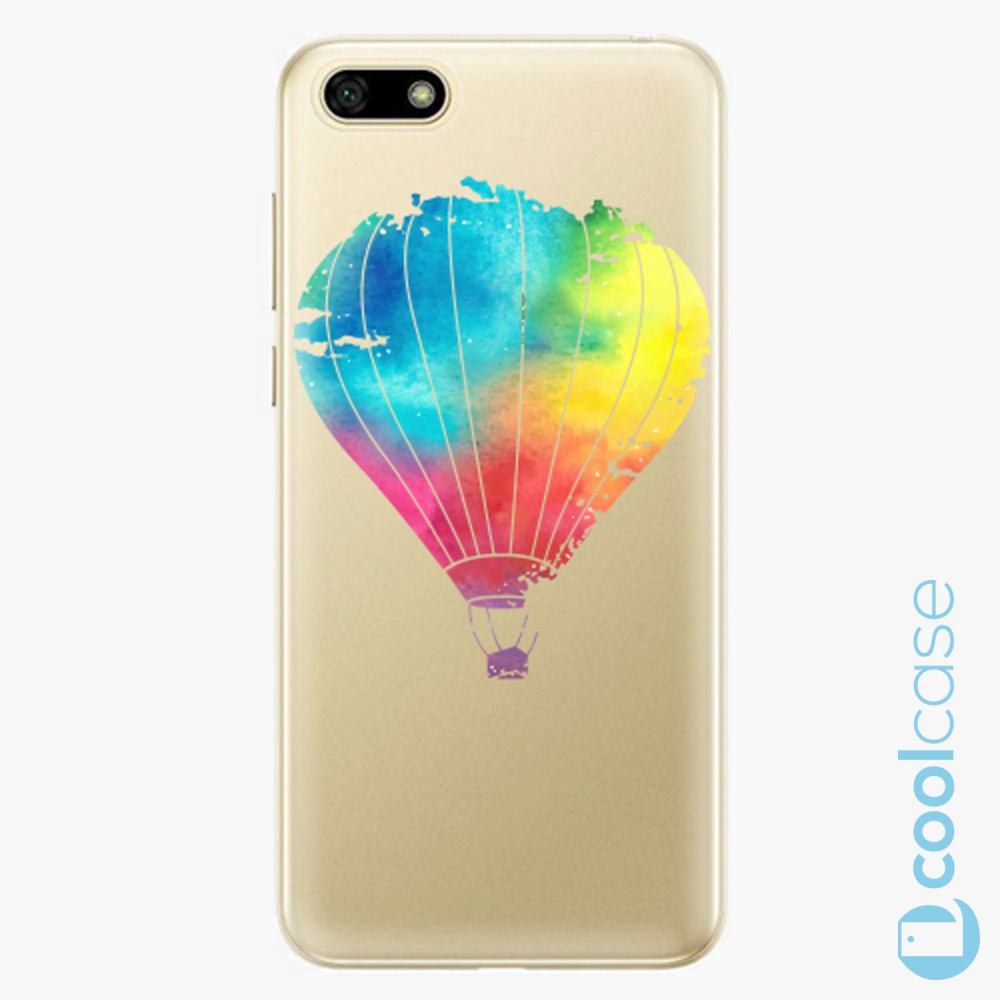 Plastový kryt iSaprio Fresh - Flying Baloon 01 na mobil Huawei Y5 2018 / Honor 7S