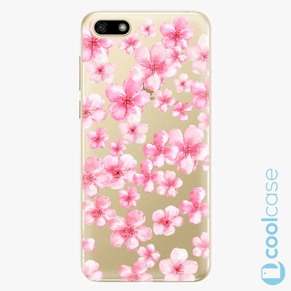 Plastový kryt iSaprio Fresh - Flower Pattern 05 na mobil Huawei Y5 2018 / Honor 7S