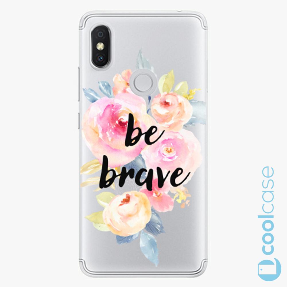 Plastový kryt iSaprio Fresh - Be Brave na mobil Xiaomi Redmi S2