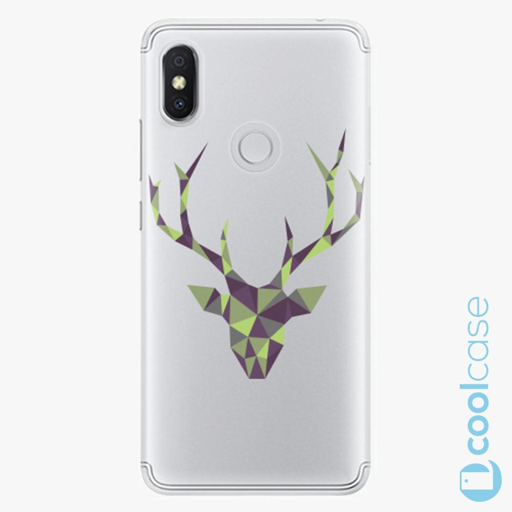 Plastový kryt iSaprio Fresh - Deer Green na mobil Xiaomi Redmi S2
