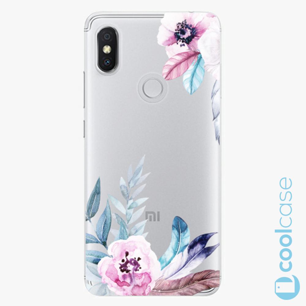 Plastový kryt iSaprio Fresh - Flower Pattern 04 na mobil Xiaomi Redmi S2