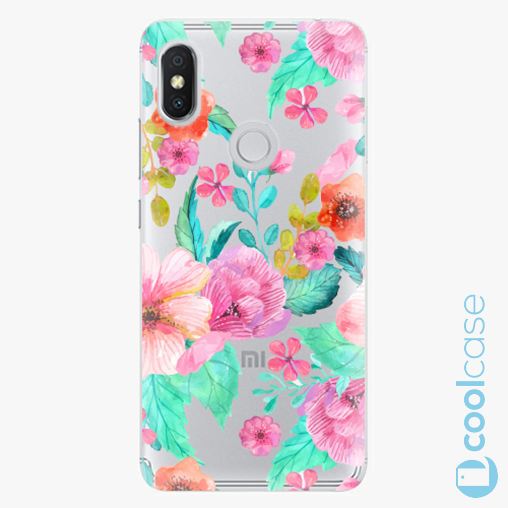 Plastový kryt iSaprio Fresh - Flower Pattern 01 na mobil Xiaomi Redmi S2