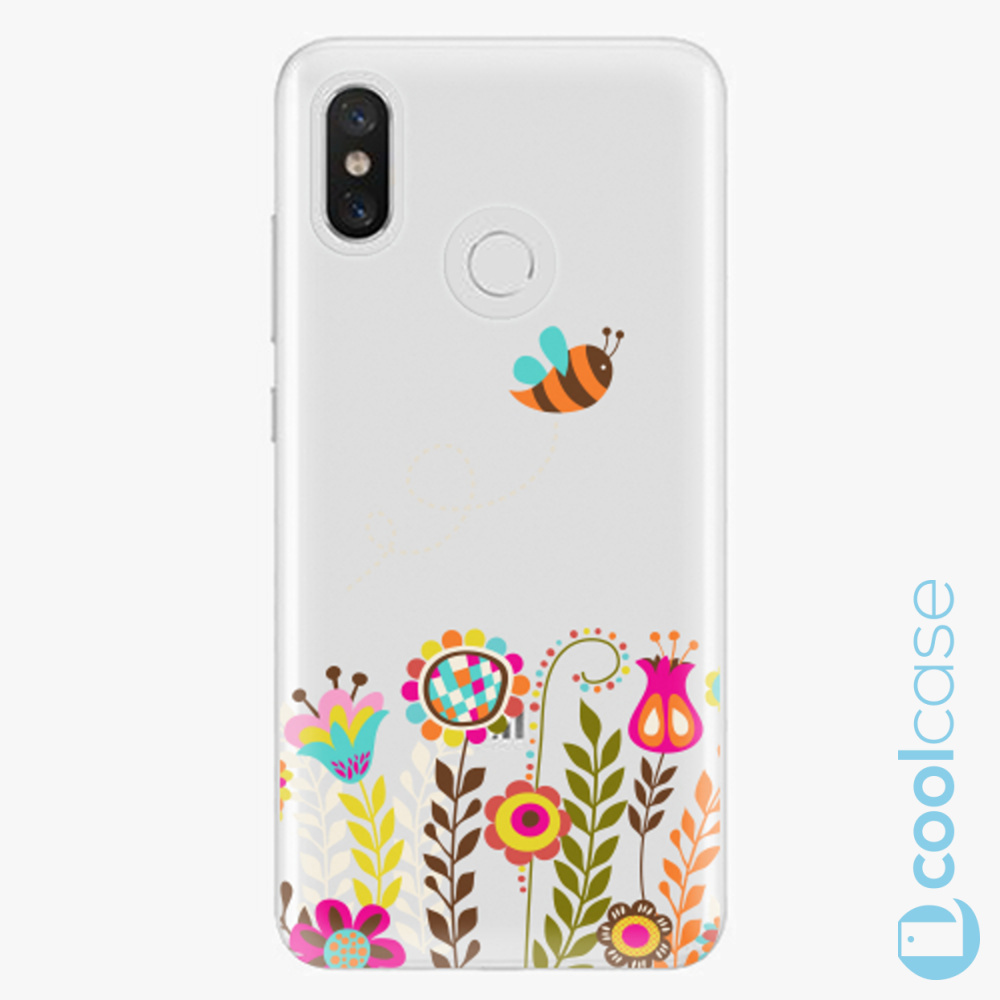 Plastový kryt iSaprio Fresh - Bee 01 na mobil Xiaomi Mi 8
