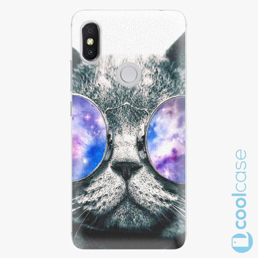 Plastový kryt iSaprio Fresh - Galaxy Cat na mobil Xiaomi Redmi S2