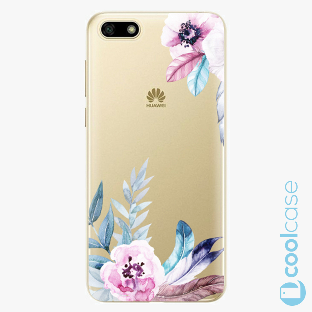 Plastový kryt iSaprio Fresh - Flower Pattern 04 na mobil Huawei Y5 2018 / Honor 7S