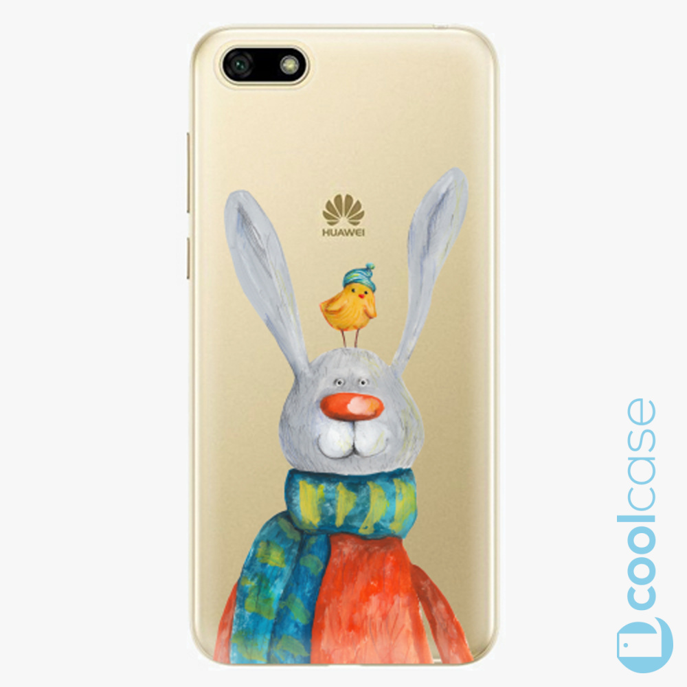 Plastový kryt iSaprio Fresh - Rabbit And Bird na mobil Huawei Y5 2018 / Honor 7S