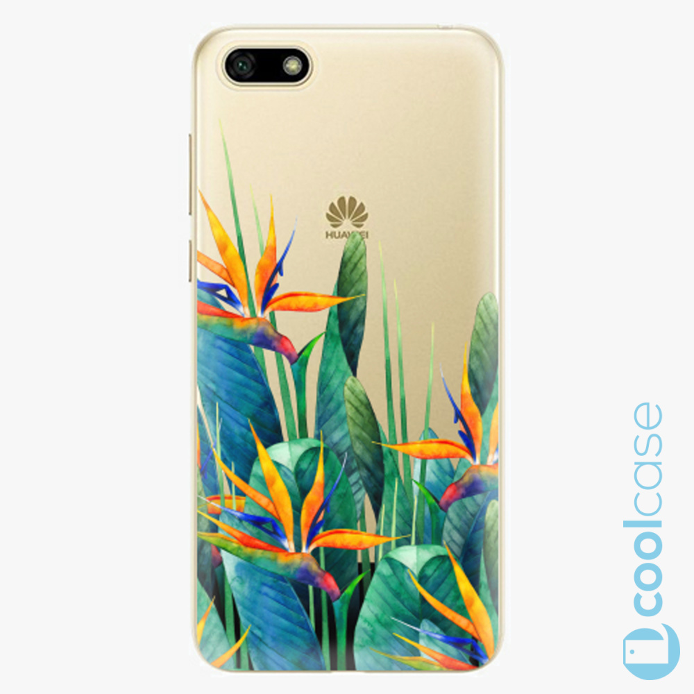 Plastový kryt iSaprio Fresh - Exotic Flowers na mobil Huawei Y5 2018 / Honor 7S