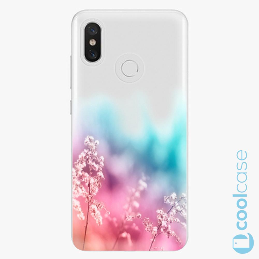 Plastový kryt iSaprio Fresh - Rainbow Grass na mobil Xiaomi Mi 8