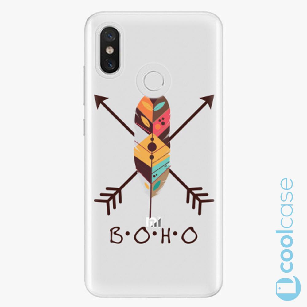 Plastový kryt iSaprio Fresh - BOHO na mobil Xiaomi Mi 8