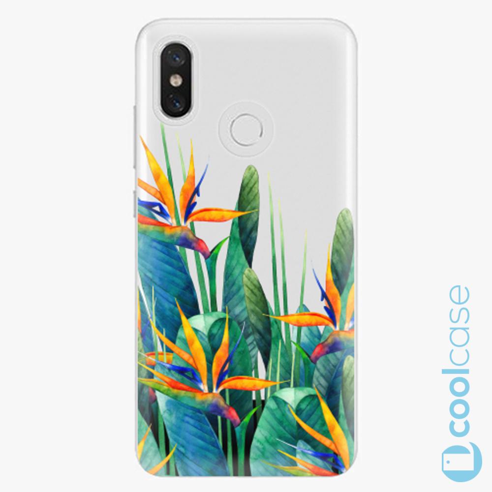 Plastový kryt iSaprio Fresh - Exotic Flowers na mobil Xiaomi Mi 8