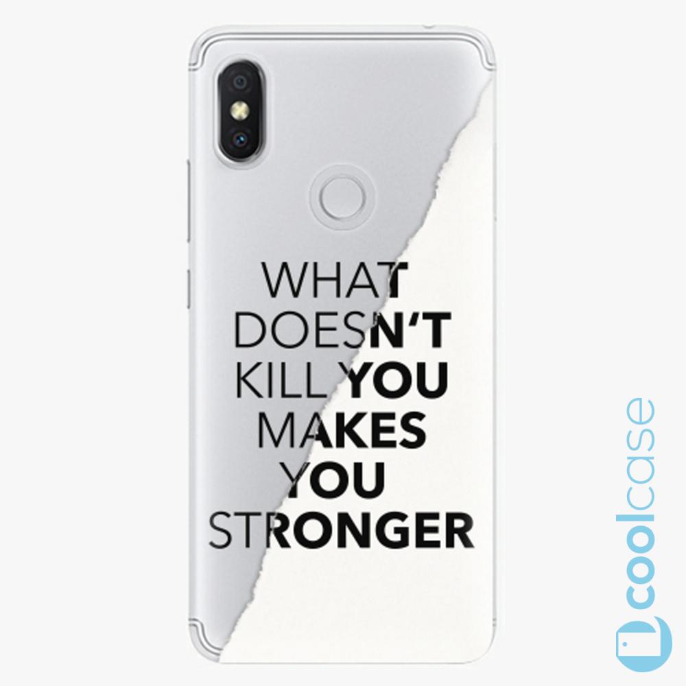 Plastový kryt iSaprio Fresh - Makes You Stronger na mobil Xiaomi Redmi S2