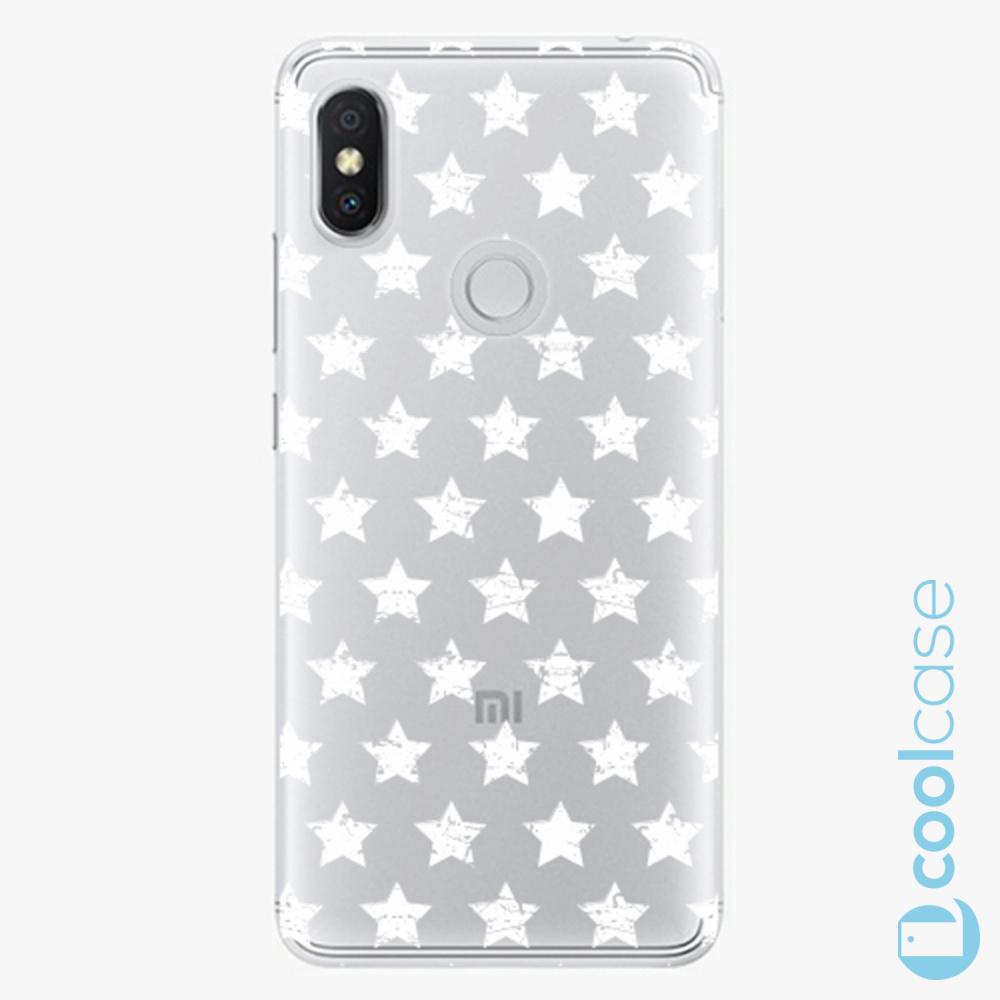 Plastový kryt iSaprio Fresh - Stars Pattern white na mobil Xiaomi Redmi S2