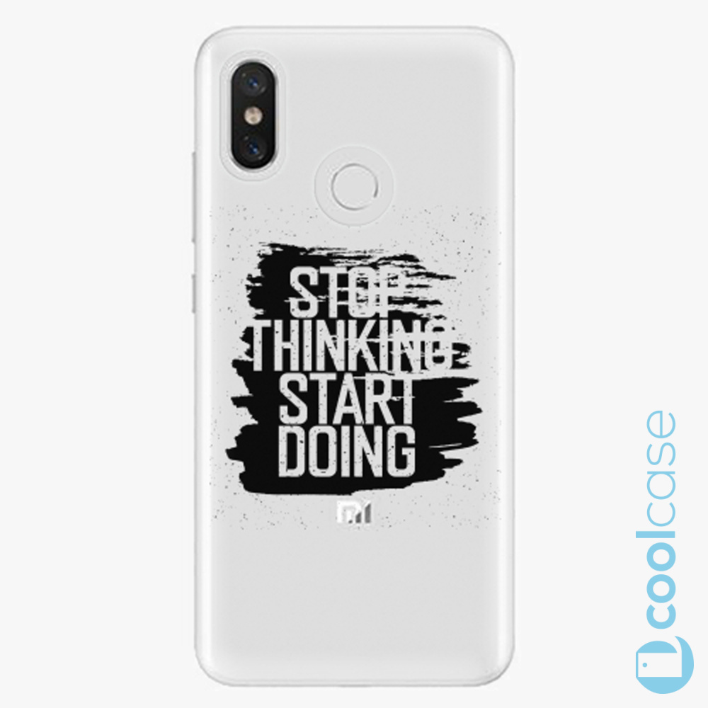 Plastový kryt iSaprio Fresh - Start Doing black na mobil Xiaomi Mi 8
