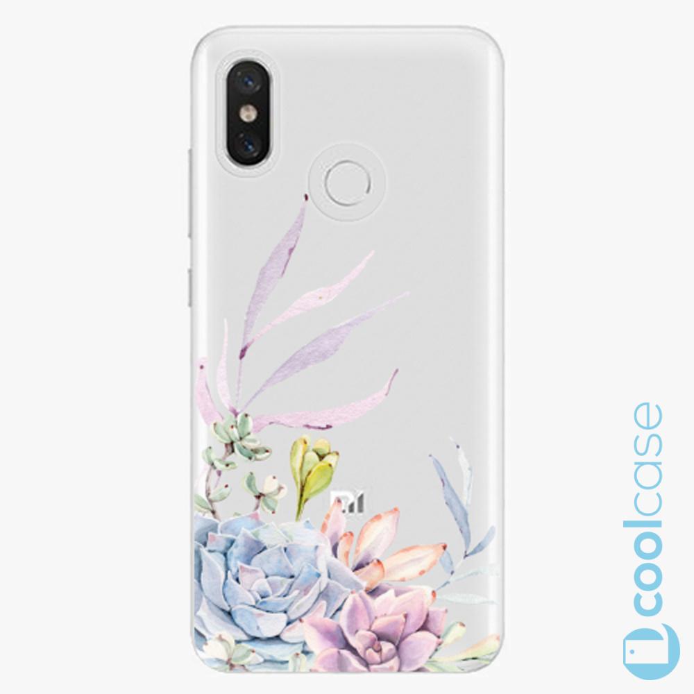 Plastový kryt iSaprio Fresh - Succulent 01 na mobil Xiaomi Mi 8