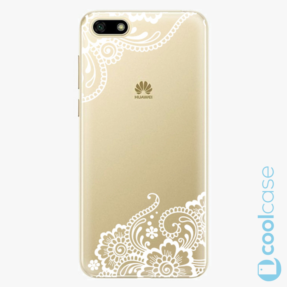 Plastový kryt iSaprio Fresh - white Lace 02 na mobil Huawei Y5 2018 / Honor 7S