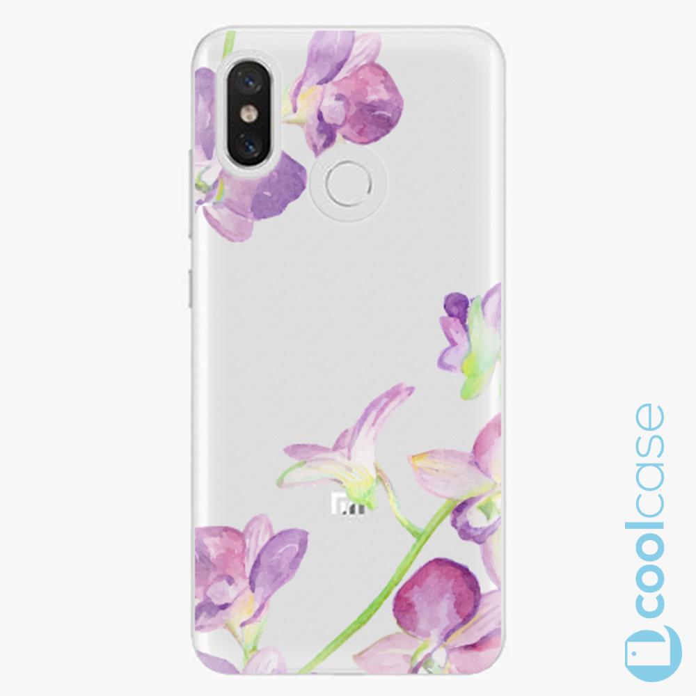 Plastový kryt iSaprio Fresh - purple Orchid na mobil Xiaomi Mi 8