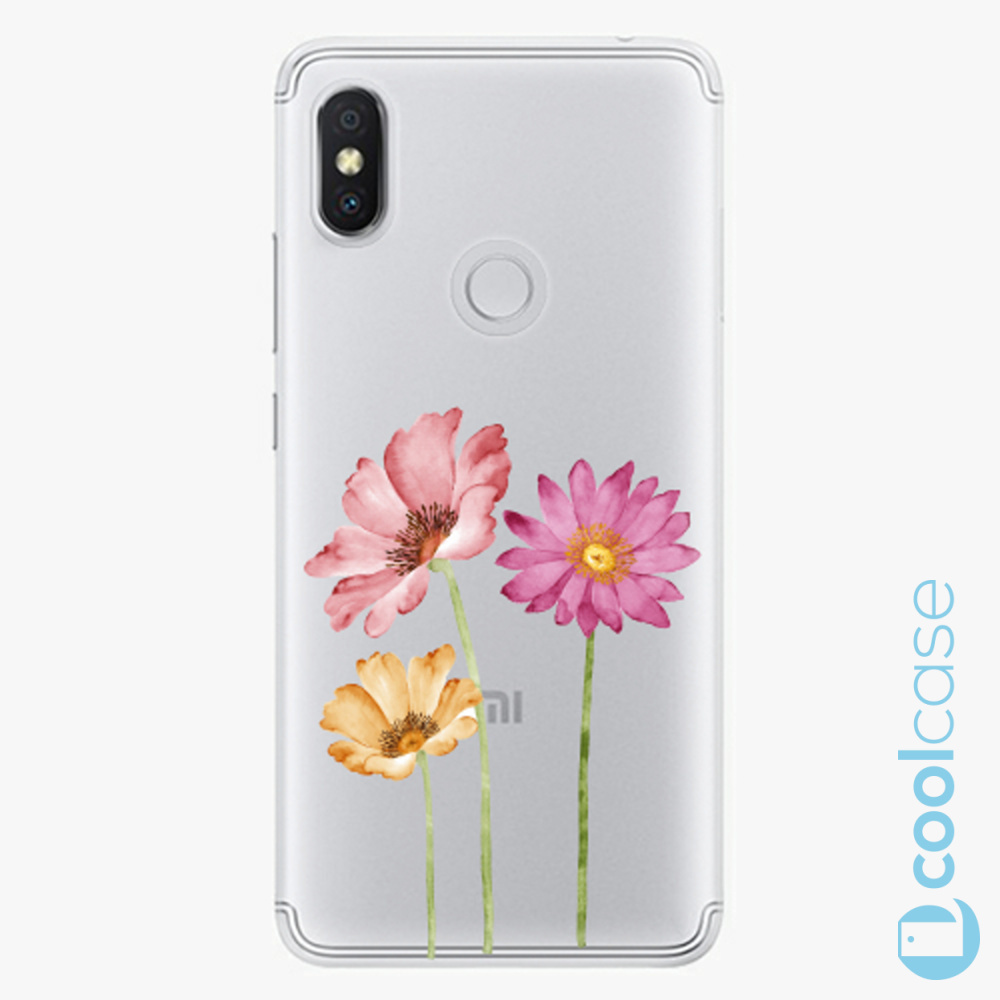 Plastový kryt iSaprio Fresh - Three Flowers na mobil Xiaomi Redmi S2